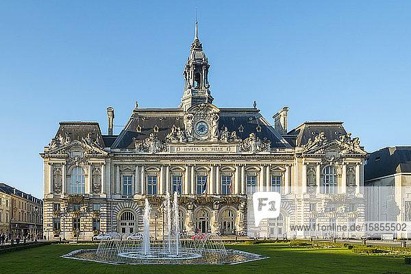 HÃ'tel de Ville (Rathaus) am Place Juan Juarès  Tours  Frankreich
