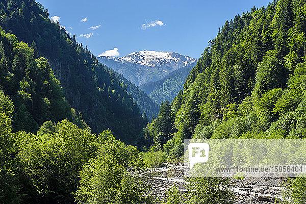 Patara Enguri River  Samegrelo-Zemo Svaneti region  Georgia