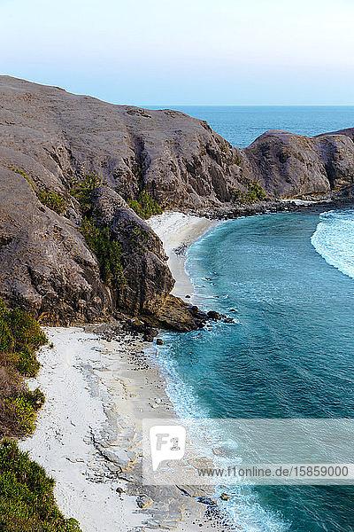 Meereslandschaft  Insel Lombok  Indonesien