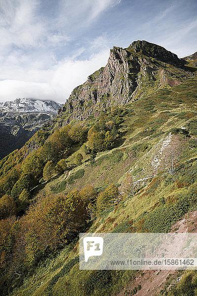 Gipfel im Aspe-Tal in den Pyrenäen