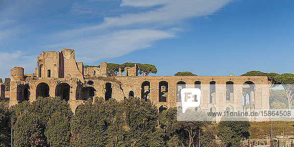 View of Palatino  Rome  Lazio  Italy  Europe