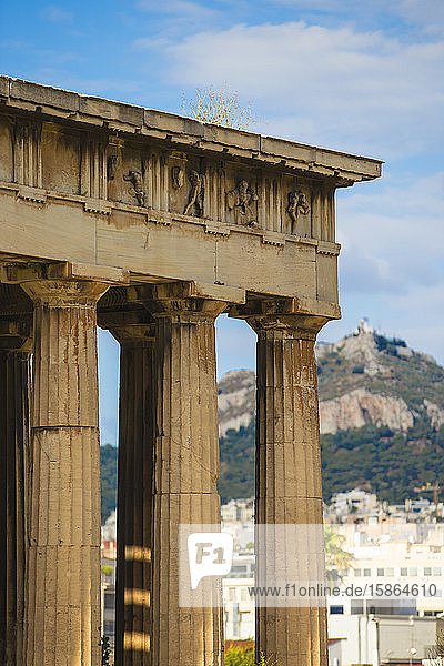 Temple of Hephaestus  The Agora  Athens  Greece  Europe