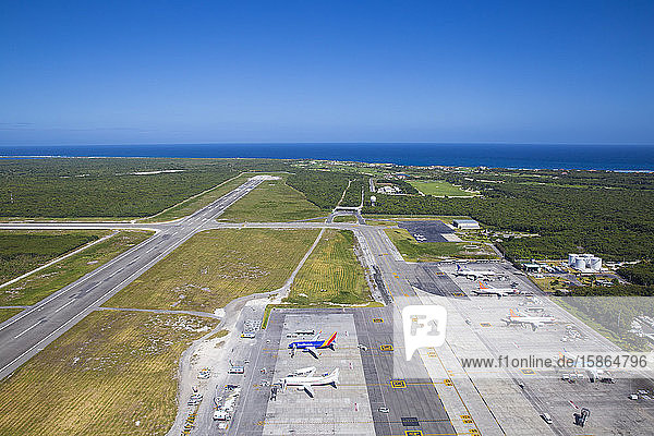 International airport  Punta Cana  Dominican Republic  West Indies  Caribbean  Central America