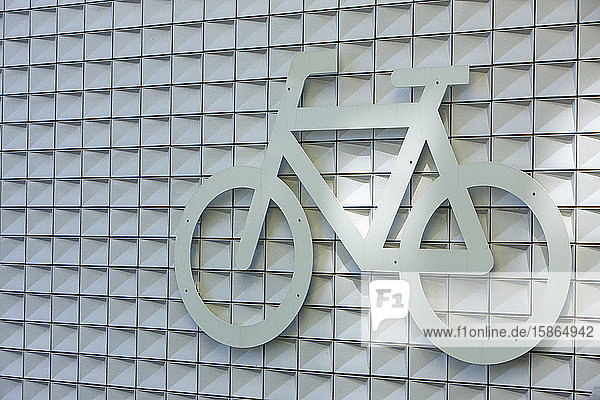 Cycle Park sign  Amsterdam  The Netherlands  Europe