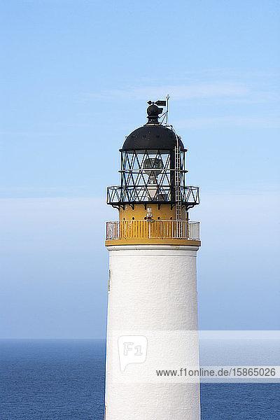 Westray Lighthouse  Westray  Orkney Islands  Scotland  United Kingdom  Europe