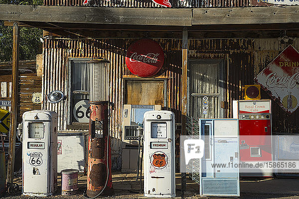 Hackberry General Store on Route 66  Arizona  United States of America  North America