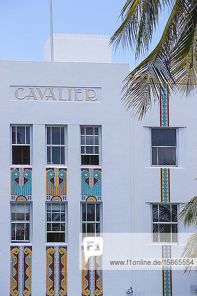 Cavalier Hotel  Ocean Drive  South Beach  Miami Beach  Miami  Florida  United States of America  North America