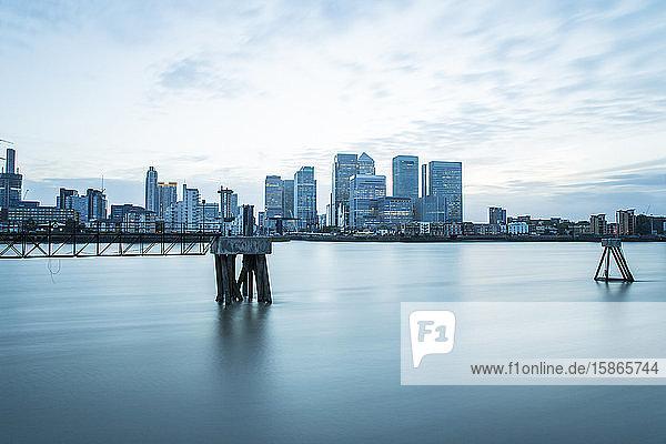 Canary Wharf  Docklands  London  England  United Kingdom  Europe