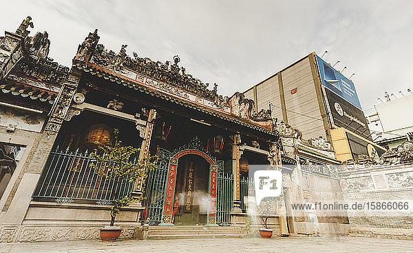 Thien Hau Temple; Ho Chi Minh City  Vietnam