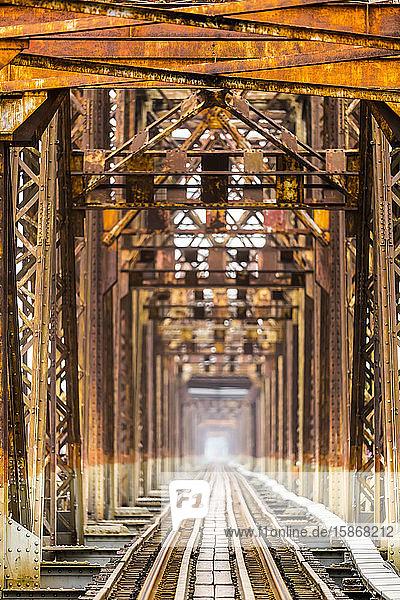 Long Bien Bridge; Hanoi  Vietnam