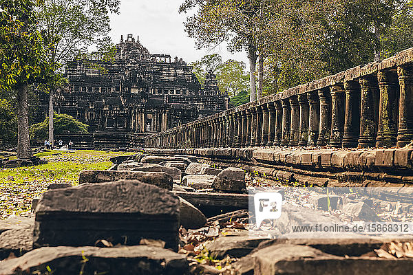 Baphuon Temple in the Angkor Wat complex; Siem Reap  Cambodia