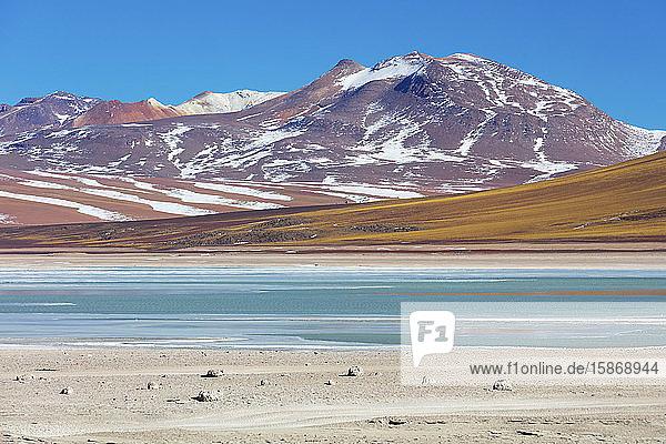 Laguna Verde  Altiplano landscape; Potosi  Bolivia
