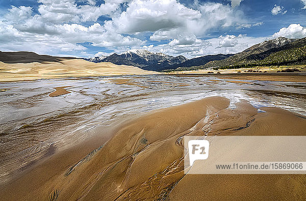 Great Sand Dunes National Park and Preserve; Colorado  United States of America