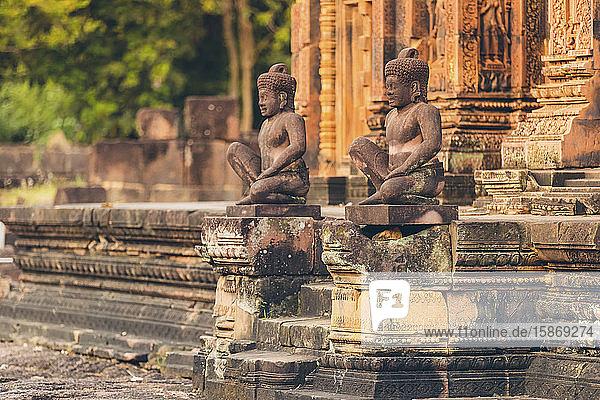 Banteay Srei Temple  Angkor Wat complex; Siem Reap  Cambodia