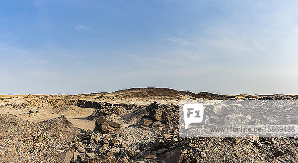 Lunar landscape near the Dead Sea  Skeleton Coast  Dorob National Park; Namibia