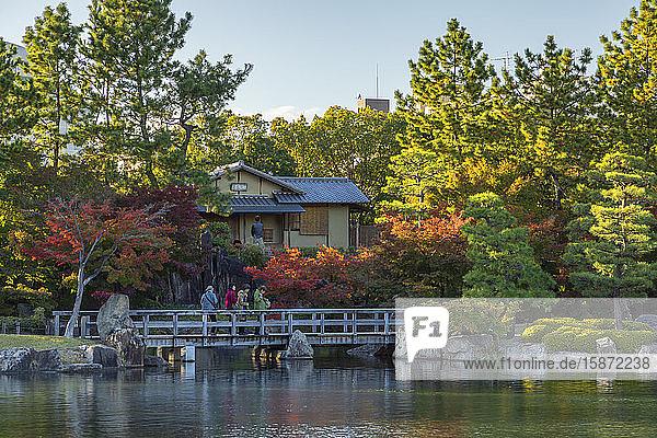 Tokugawa Garden  Nagoya  Honshu  Japan  Asia