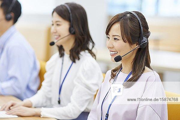 Japanese call center