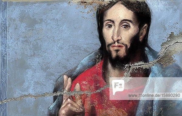Illustration  portrait of Jesus