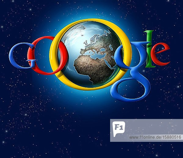 Illustration  Google controls the world