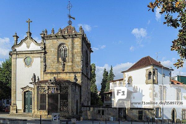 Francisco Sanches Church  Braga  Minho  Portugal.