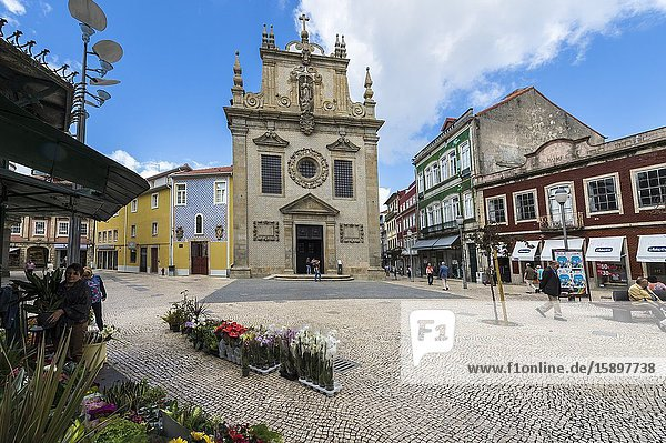 Church of the Third Order of St. Francis  Igreja dos Terceiros  Braga  Minho  Portugal.