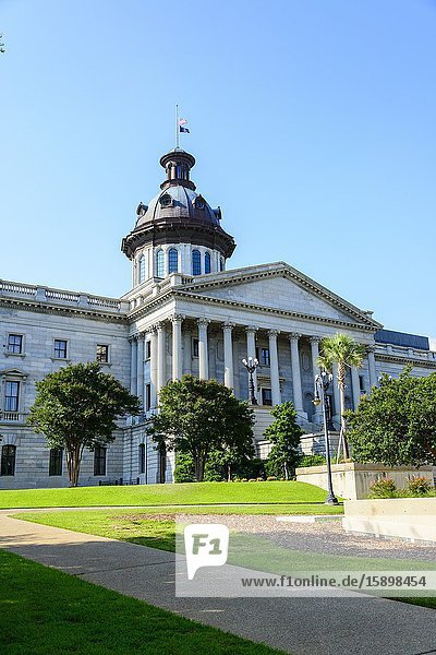 Columbia South Carolina home of the Statehouse Capital building with a rich history.