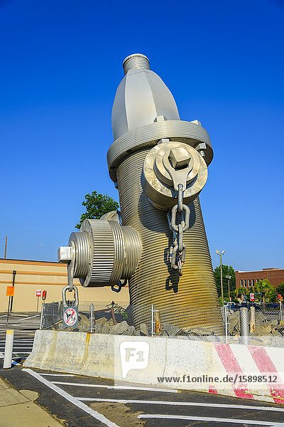 . World's Largest Fire Hydrant Columbia South Carolina home of the Statehouse Capital building with a rich history.