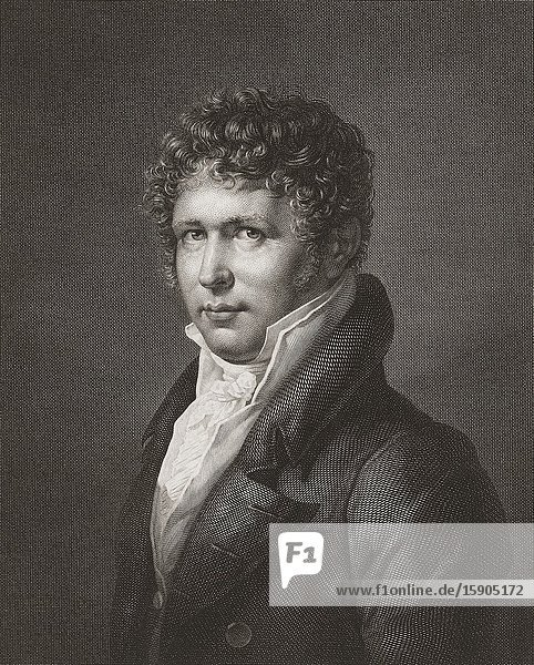 Friedrich Wilhelm Heinrich Alexander von Humboldt  1769-1859. Prussian polymath  geographer  naturalist  explorer  and proponent of Romantic philosophy and science.