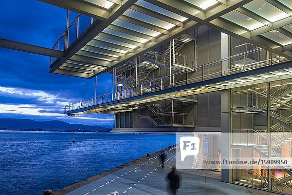 Santander  Cantabria  Spain. Centro Botín art gallery  designed by Pritzker Prize-winner architect Renzo Piano.