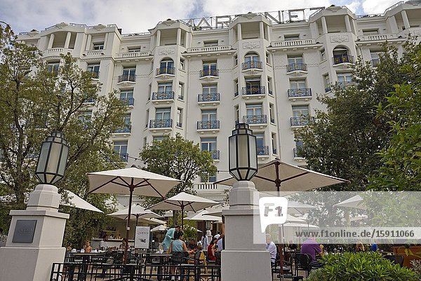 Martinez Hotel  Alpes-Maritimes department  Provence-Alpes-Cote d'Azur region  France  Europe.