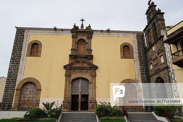 San Agustin church  La Orotava  Northern part of Tenerife  Canary Islands  Spain  Europe