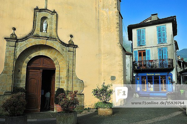 Couflens town   Ariège department  France