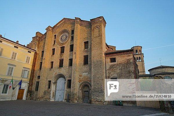 San Francesco del Prato church  it was the city's jail  Parma  Emilia Romagna  Italy  Europe