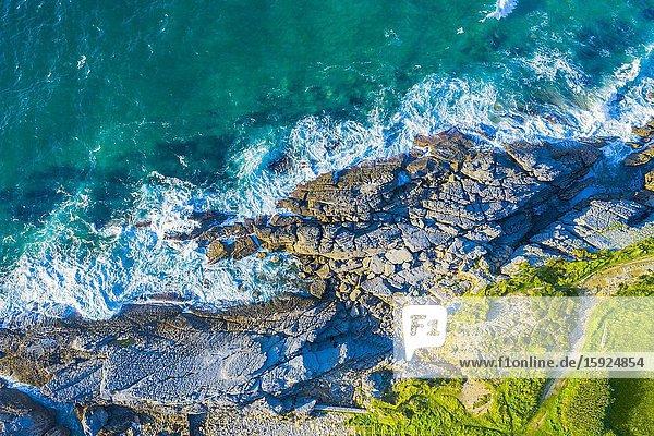 Coastal landscape. Sonabia (Castro Urdiales) Cantabria  Spain  Europe.