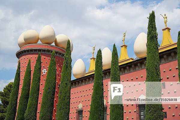 Dalí Theatre and Museum  Figueres  Girona province  Catalonia  Spain  Europe