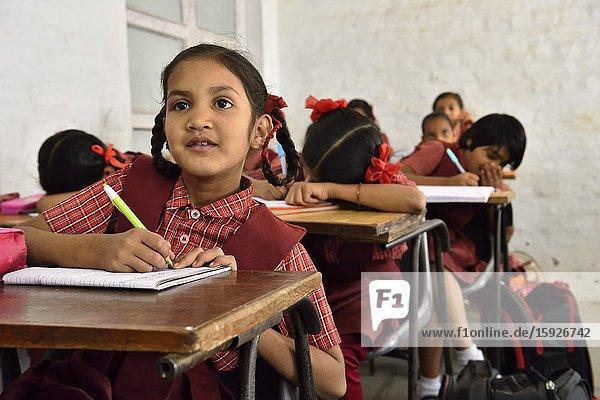 India  Madhya Pradesh  Maheshwar  Ahilya Bal Jyoti School.