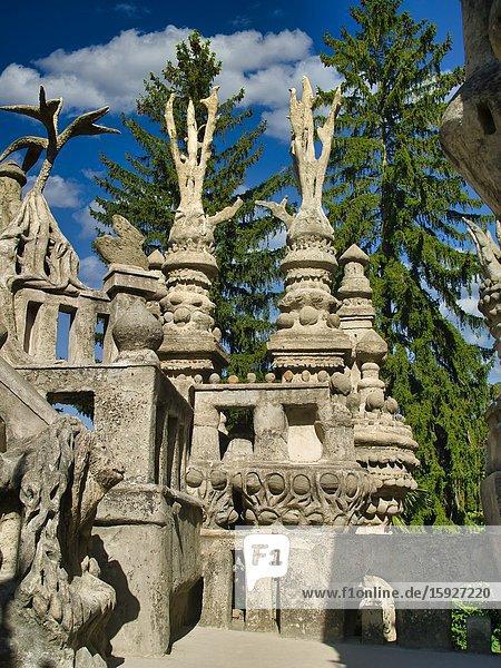 Palais Ideal  Hauterives  Drome Department  Auvergne-Rh™ne-Alpes region  France.