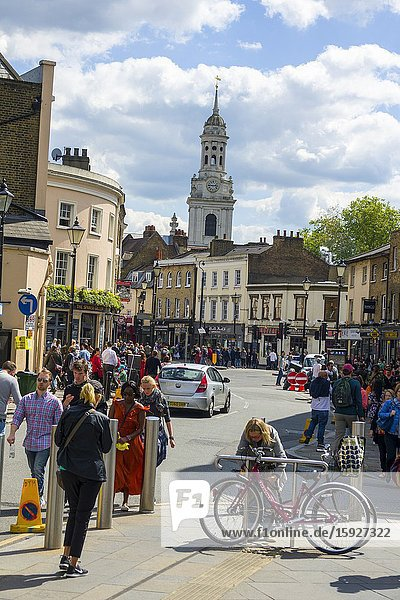 Town of Greenwich England Prime Meridian Zero Longitude Hemispheres London UK Europe EU.
