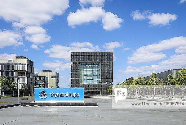 ThyssenKrupp Hauptverwaltung  Essen  Ruhrgebiet  Nordrhein-Westfalen  Deutschland  Europa