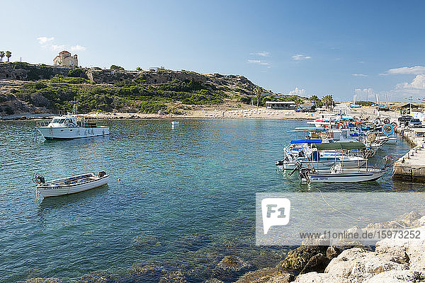 St. George Beach  Paphos  Zypern  Mittelmeer  Europa