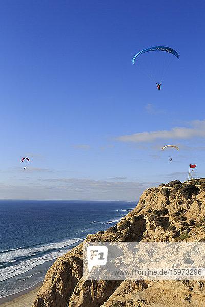 Torrey Pines Gliderport  La Jolla  San Diego  Kalifornien  Vereinigte Staaten von Amerika  Nordamerika