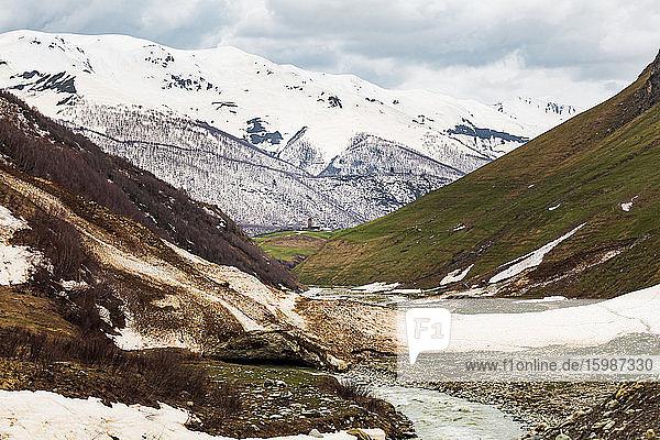Georgia  Svaneti  Ushguli  Valley in Central Caucasus mountains