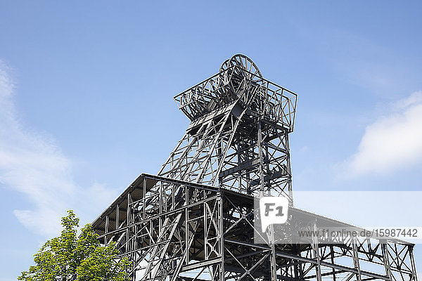 Germany  North Rhine-Westphalia  Hamm  Shafts ofRadbod coal mine