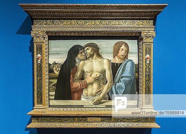 Pietà  Gemälde von Giovanni Bellini  1430 ? 1516  Renaissance  Pinacoteca di Brera  Mailand  Lombardei  Italien  Europa