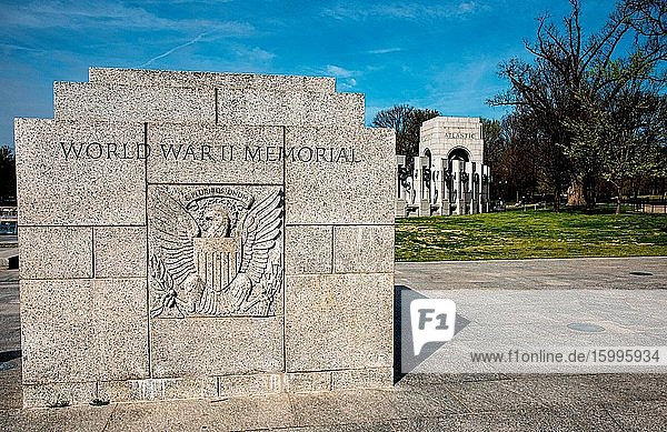 World War II Memorial  Washington  D.C.