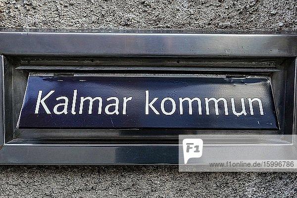 Kalmar  Sweden A mailbox for the Kalmar kommun  or Kalmar Municipality.