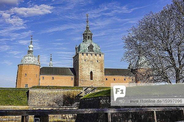 Kalmar  Sweden The grounds of the Kalmar Castle.