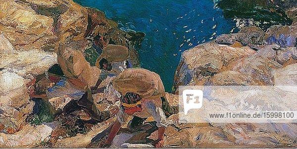 Joaqu?n Sorolla Y Bastida - Smugglers 1919.