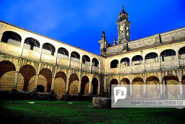 Monastery of Xunqueira de Espada?edo  Orense  Spain