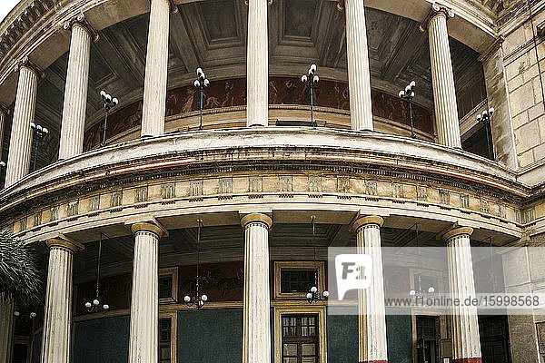 Politeama-Garibaldi Theater (Teatro Politeama-Garibaldi)  Piazza Ruggero Settimo  Palermo  Sicily  Italy  Europe.